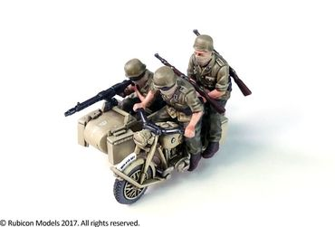 German Motorcycle R75 with Sidecar (DAK) 1/56 (28mm) – Bild 3