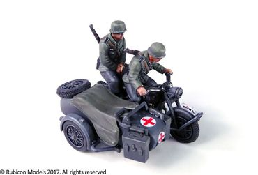 German Motorcycle R75 with Sidecar (ETO) 1/56 (28mm) – Bild 3