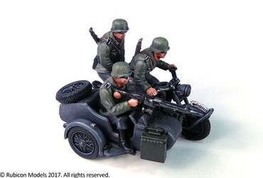 German Motorcycle R75 with Sidecar (ETO) 1/56 (28mm) – Bild 5
