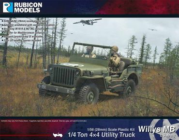Willys MB 1/4 Ton 4x4 Truck US Standard 1/56 (28mm) – Bild 1