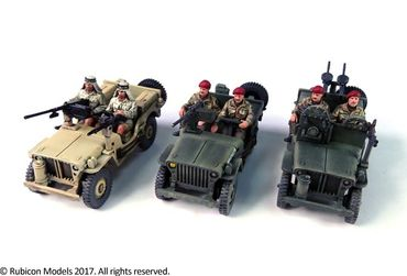 Willys MB 1/4 Ton 4x4 Truck Commonwealth 1/56 (28mm) – Bild 3