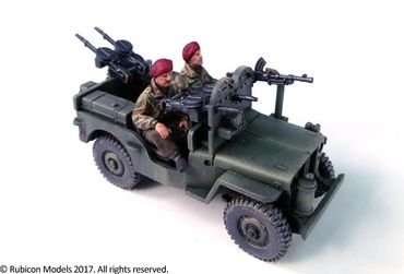 Willys MB 1/4 Ton 4x4 Truck Commonwealth 1/56 (28mm) – Bild 4