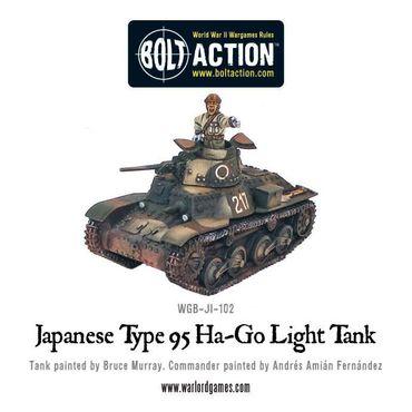 Japanese Typ 95 Ha-Go Light Tank 28mm – Bild 2