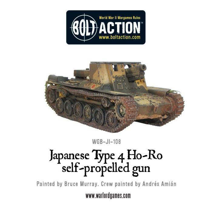 Bolt Action Japanese Type 4 Ho-Ro
