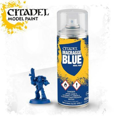 Citadel Macragge Blue Grundierspray 400ml