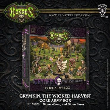 Hordes Grymkin The Wicked Harvest Core Army Box
