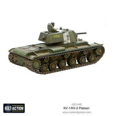 Soviet KV-1 / KV-2 Heavy Tanks Platoon 28mm – Bild 6