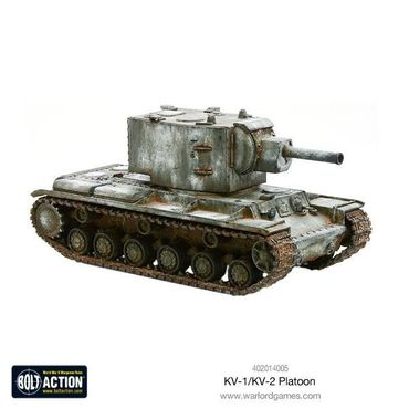 Soviet KV-1 / KV-2 Heavy Tanks Platoon 28mm – Bild 3