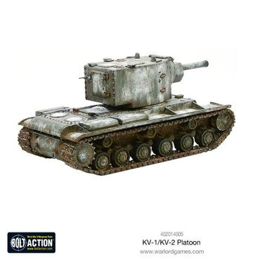 Soviet KV-1 / KV-2 Heavy Tanks Platoon 28mm – Bild 4