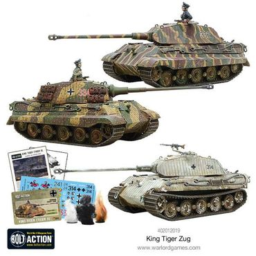King Tiger Heavy Tanks Zug 28mm – Bild 6