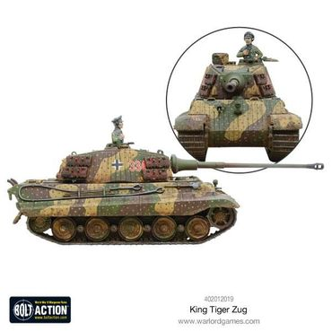 King Tiger Heavy Tanks Zug 28mm – Bild 3