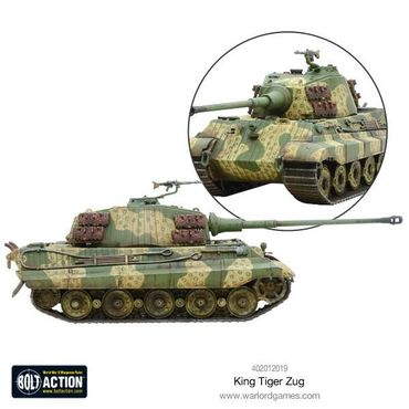 King Tiger Heavy Tanks Zug 28mm – Bild 5