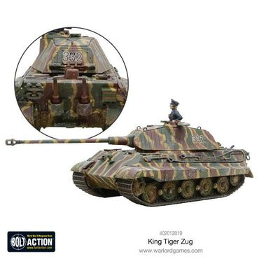 King Tiger Heavy Tanks Zug 28mm – Bild 4