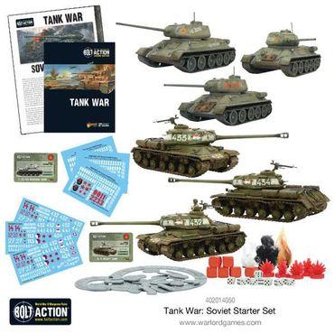 Tank War Soviet Starter Set 28mm (Englisch) – Bild 5
