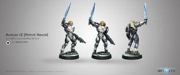 ALEPH Achilles (Hoplite Armor, EXP CC Weapon)
