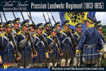 Prussian Landwehr Regiment 1813-1815 28mm – Bild 1
