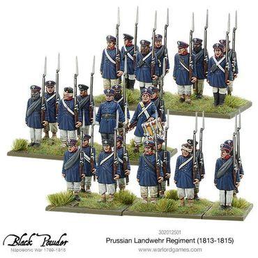 Prussian Landwehr Regiment 1813-1815 28mm – Bild 2