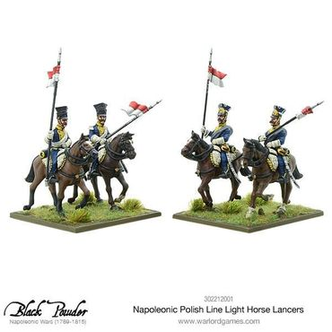 Napoleonic Polish Line Light Horse Lancers 28mm – Bild 4