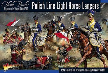 Napoleonic Polish Line Light Horse Lancers 28mm – Bild 1