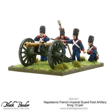 Napoleonic French Imperial Guard Foot Artillery firing 12-pdr 28mm – Bild 2