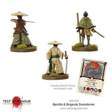 Test of Honour Bandits and Brigands Swordsmen 28mm – Bild 2