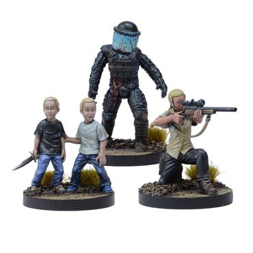 The Walking Dead Andrea, Prison Sniper Booster (Englisch) All Out War