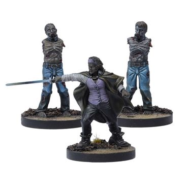 The Walking Dead Michonne Booster (Englisch) All Out War – Bild 1