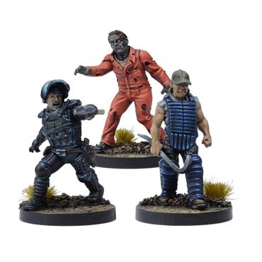 The Walking Dead Rick, Prison Advisor Booster (Englisch) All Out War