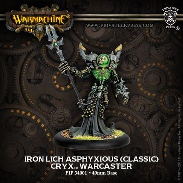 Cryx Iron Lich Asphyxious Battelgroup Limitierte Edition (Deutsch) – Bild 2