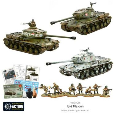 Soviet IS-2 Heavy Tanks Platoon 28mm – Bild 2