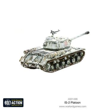 Soviet IS-2 Heavy Tanks Platoon 28mm – Bild 6