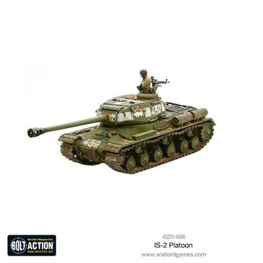 Soviet IS-2 Heavy Tanks Platoon 28mm – Bild 3