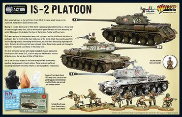 Soviet IS-2 Heavy Tanks Platoon 28mm – Bild 8