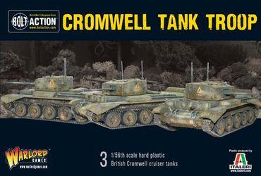 British Cromwell Tank Troop 28mm