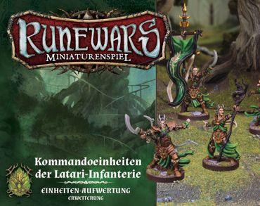 Runewars Kommandoeinheiten der Latari Infanterie Erweiterung – Bild 1