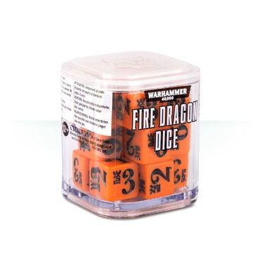 Craftworlds Aspect Warrior Dice Cube Fire Dragon (20)