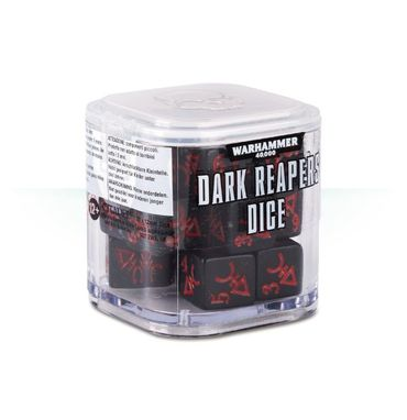 Craftworlds Aspect Warrior Dice Cube Dark Reapers (20)