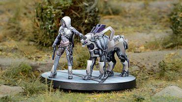 ALEPH Andromeda, Sophistes of the Steel Phalanx (Submachine Gun) – Bild 3