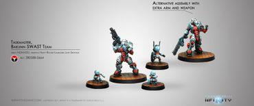 Nomads Taskmaster Bakunin SWAST Team (Red Fury)