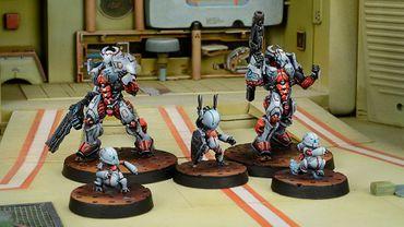 Nomads Taskmaster Bakunin SWAST Team (Red Fury) – Bild 3