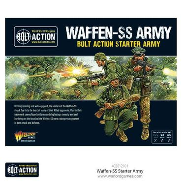 Bolt Action Starter Army Wafffen SS German 28mm