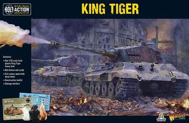 King Tiger Heavy Tank 28mm