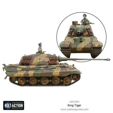 King Tiger Heavy Tank 28mm – Bild 3