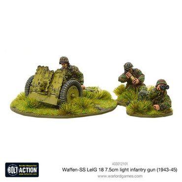 Waffen SS LeIG 18 7.5cm light infantry gun (1943-45) 28mm – Bild 1