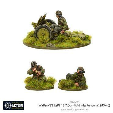 Waffen SS LeIG 18 7.5cm light infantry gun (1943-45) 28mm – Bild 2