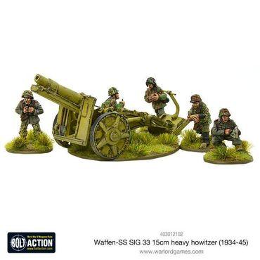 Waffen SS SIG 33 15cm heavy howitzer (1943-45) 28mm – Bild 1