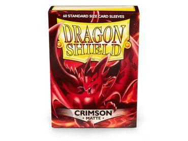 Dragon Shield Matte Crimson 100 protective Sleeves – Bild 1