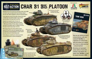 Char B1 Bis Platoon 28mm  – Bild 8