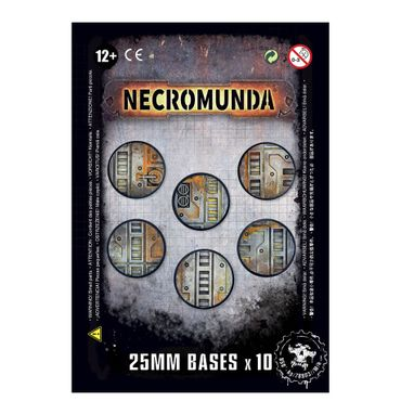 Necromunda Industrial Bases 25mm