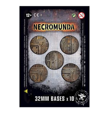 Necromunda Industrial Bases 32mm